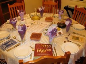 My Seder Table