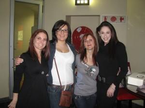 Gina, Paula, Rolene, Candice (absent Wendi & Anneri)