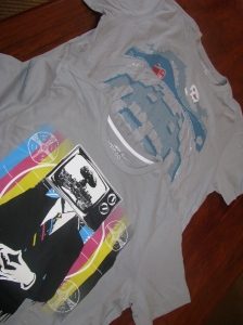 Two tees