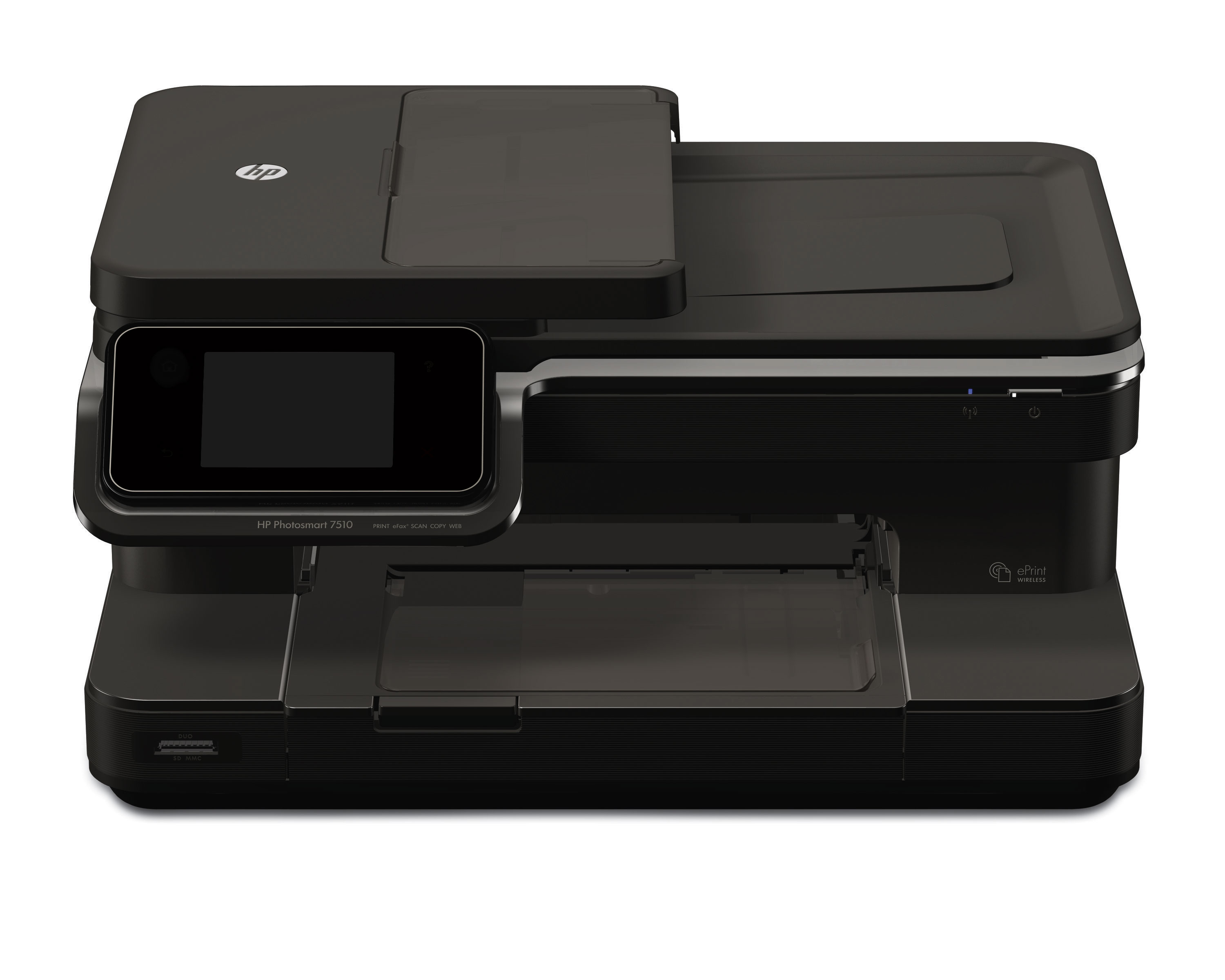 how to connect hp photosmart 7510 printer to wifi